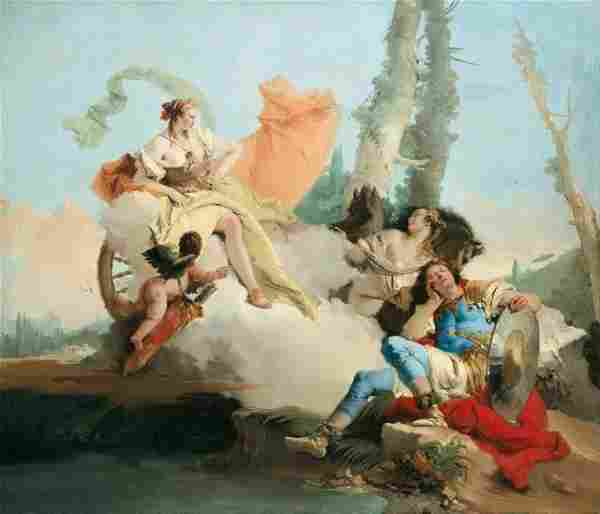 Tiepolo - Rinaldo Enchanted by Armida