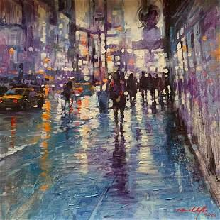 "David Hinchliffe ""Purple Rain"""