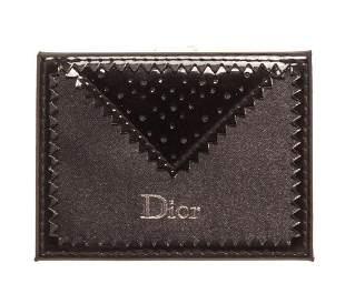Christian Dior Black Mirror Card Holder