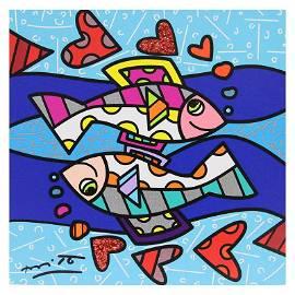Pisces by Britto, Romero