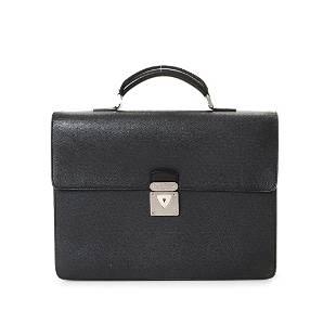 Louis Vuitton Black Epi Robust Handbag