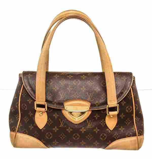 Louis Vuitton Brown Beverly GM Shoulder Bag