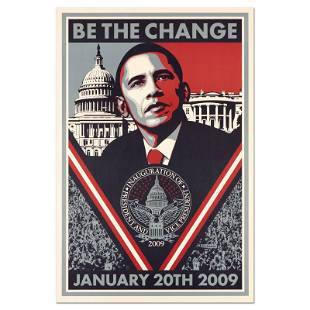 Be the Change by Fairey, Shepard