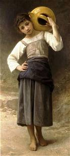 William Bouguereau - Young Girl Going to the Spring