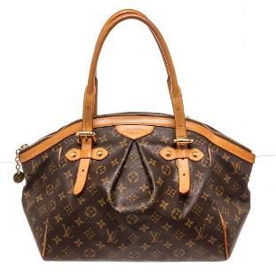 Louis Vuitton Brown Monogram Tivoli GM Shoulder Bag