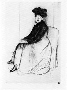 Mary Cassatt - Thoughtfully