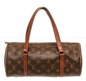 Louis Vuitton Brown Monogram Canvas Papillon Handbag