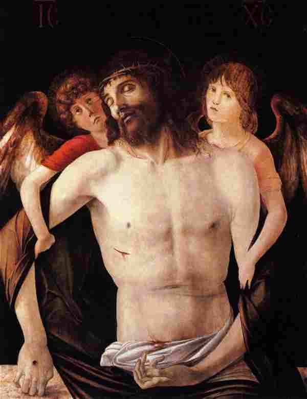 Giovanni Bellini - The Dead Christ Supported by an