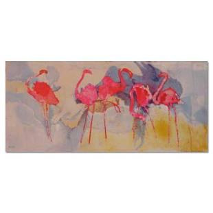 Flamingo Fantasia by Salomon, Edwin