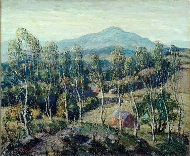 Ernest Lawson - New England Birches
