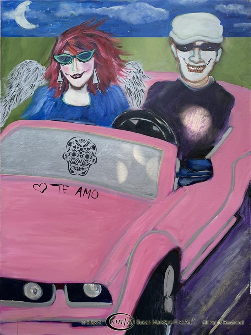 "Susan Manders ""Pink Cadillac"""