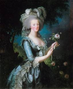 Louise Elisabeth Vigee-Lebrun - Marie-Antoinette with