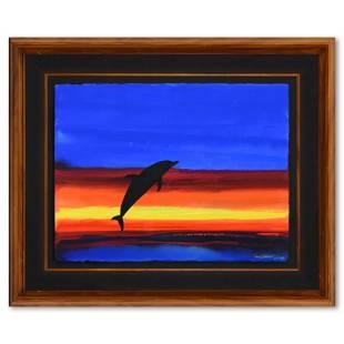 Ocean Flight by Wyland Original