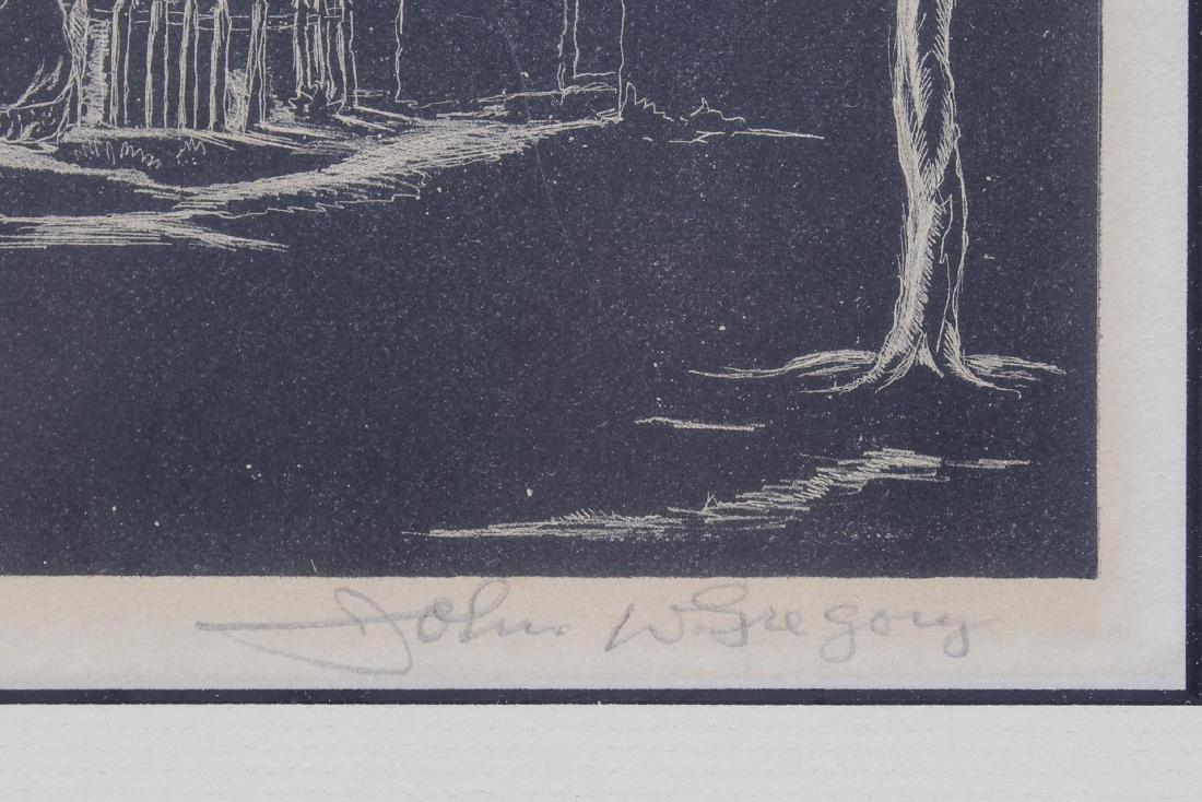 John W. Gregory (American, 1903-1992)- Litho - 3