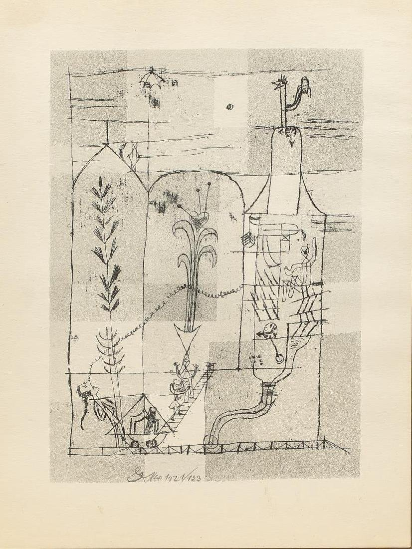 After Paul Klee (Swiss/German, 1879-1940)- Litho