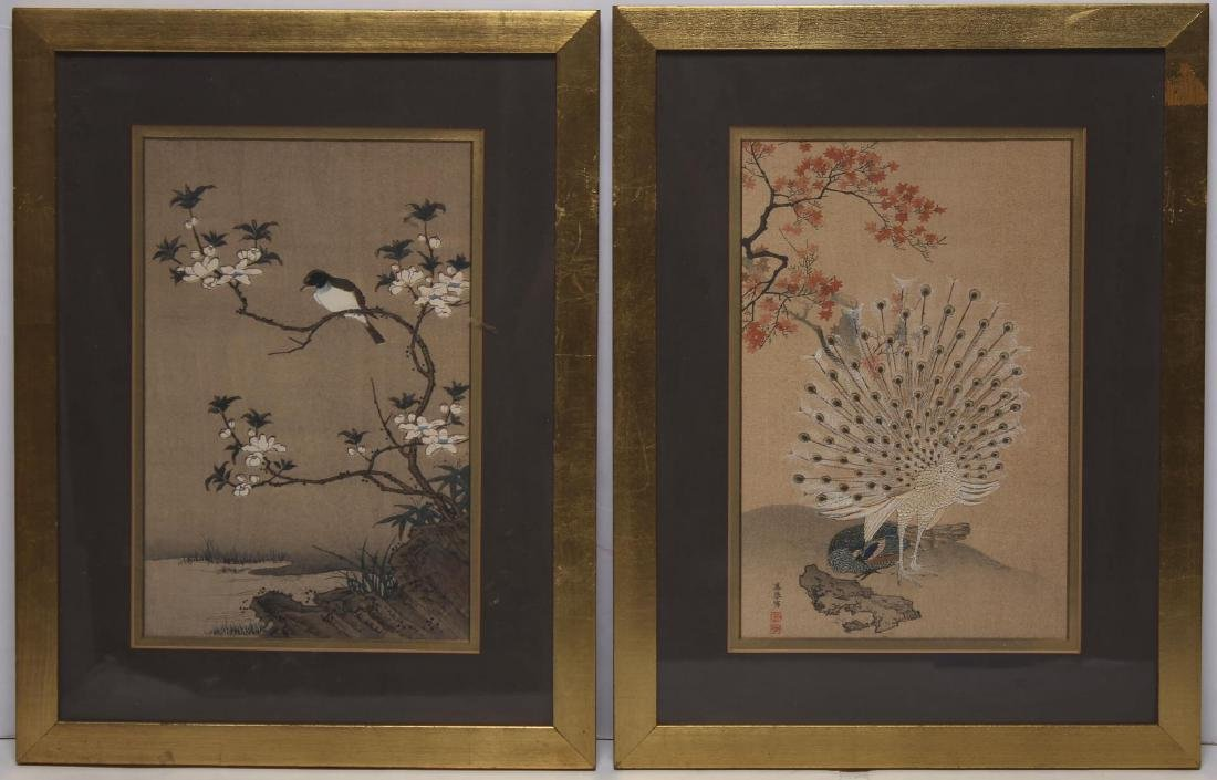Japanese Prints, Bird-and-Flower Scenes