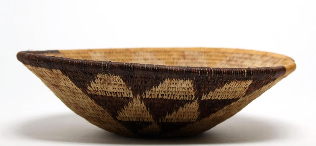 Antique African Woven Basket, Tribal Art