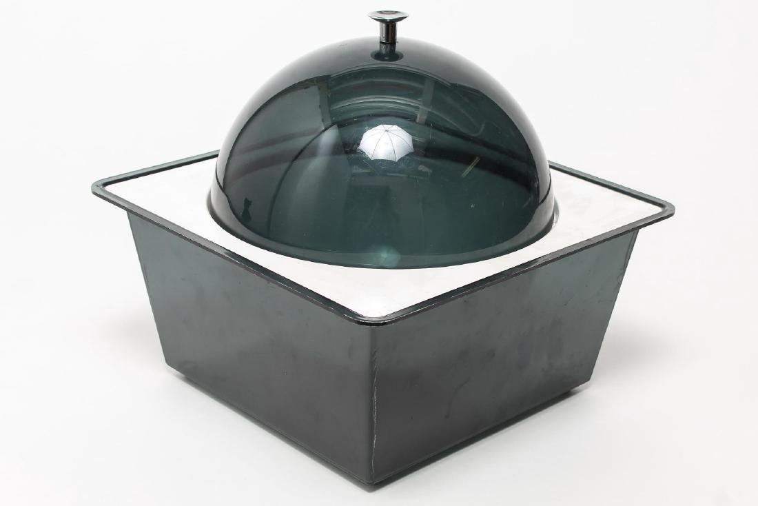 Mid-Century Modern 2-Tone Resin Serving Dish