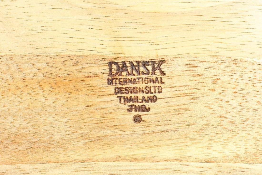 Dansk Serving Bowl & Associated Salad Utensil Set - 2