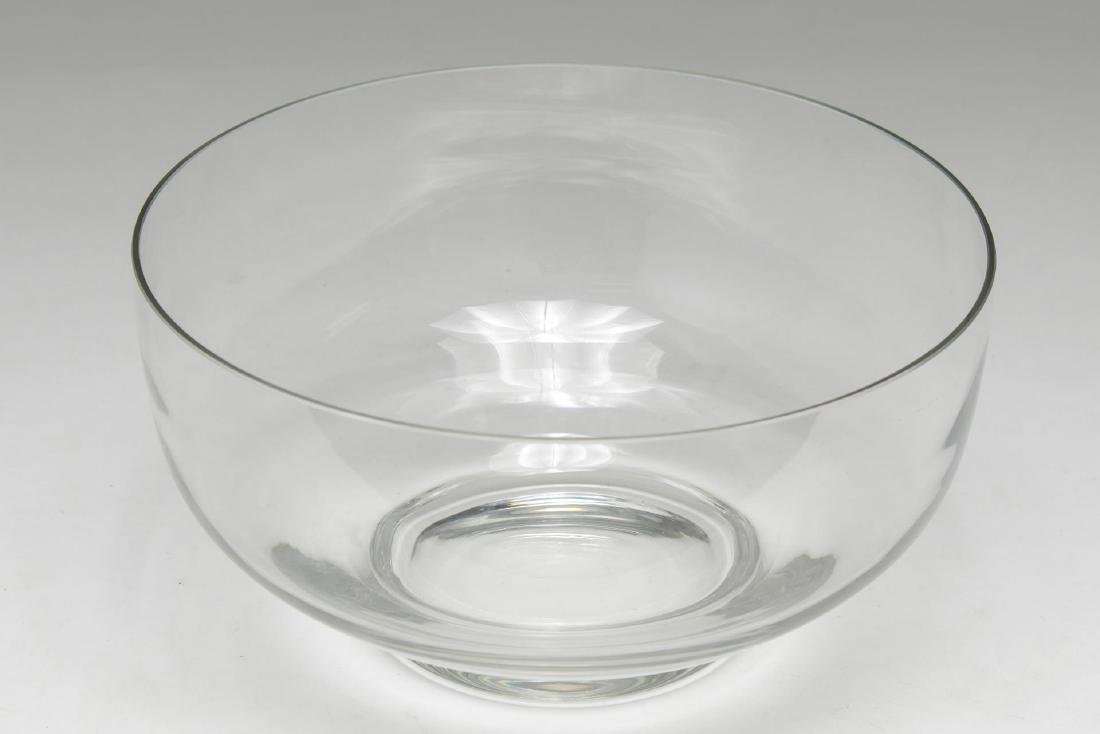 Tiffany & Company Glass Centerpiece or Salad Bowl