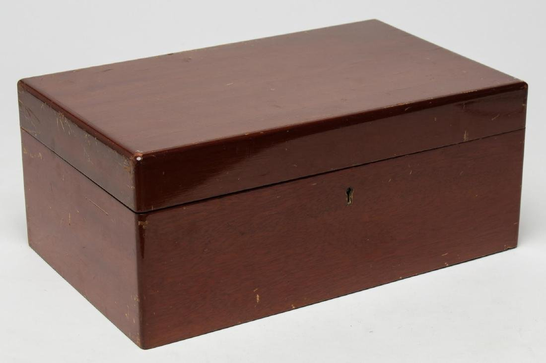 Dunhill English Walnut Humidor, Vintage
