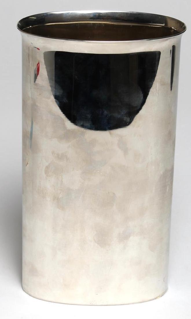 Scandia Present Swedish Modern Silver-Plate Vase