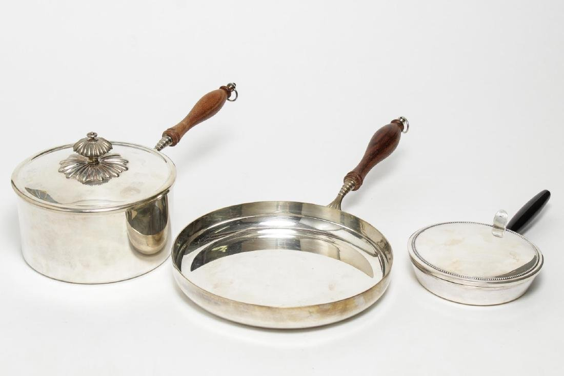 Continental Silver-Plate Pans & Serving Pieces