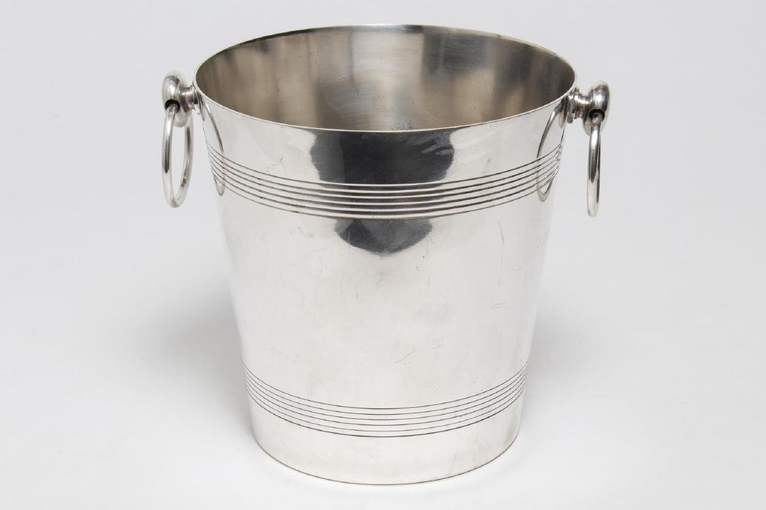 Camille Longuet French Art Deco Silverplate Bucket
