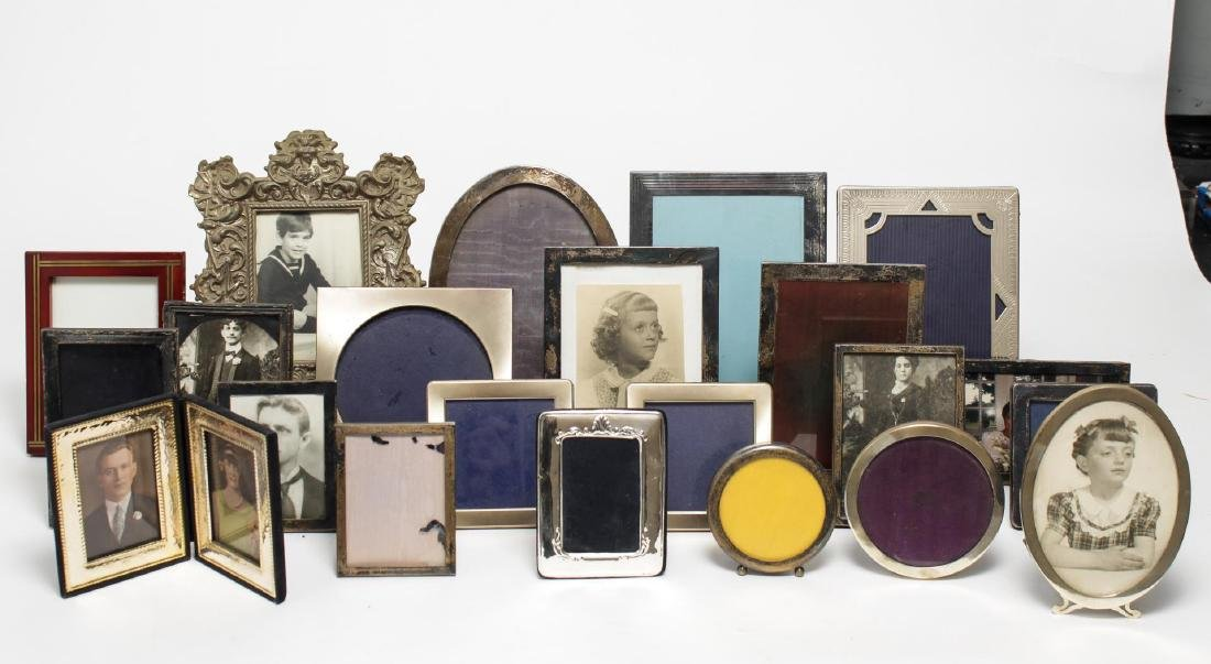 Picture Frames, Silver & Other Material, 23