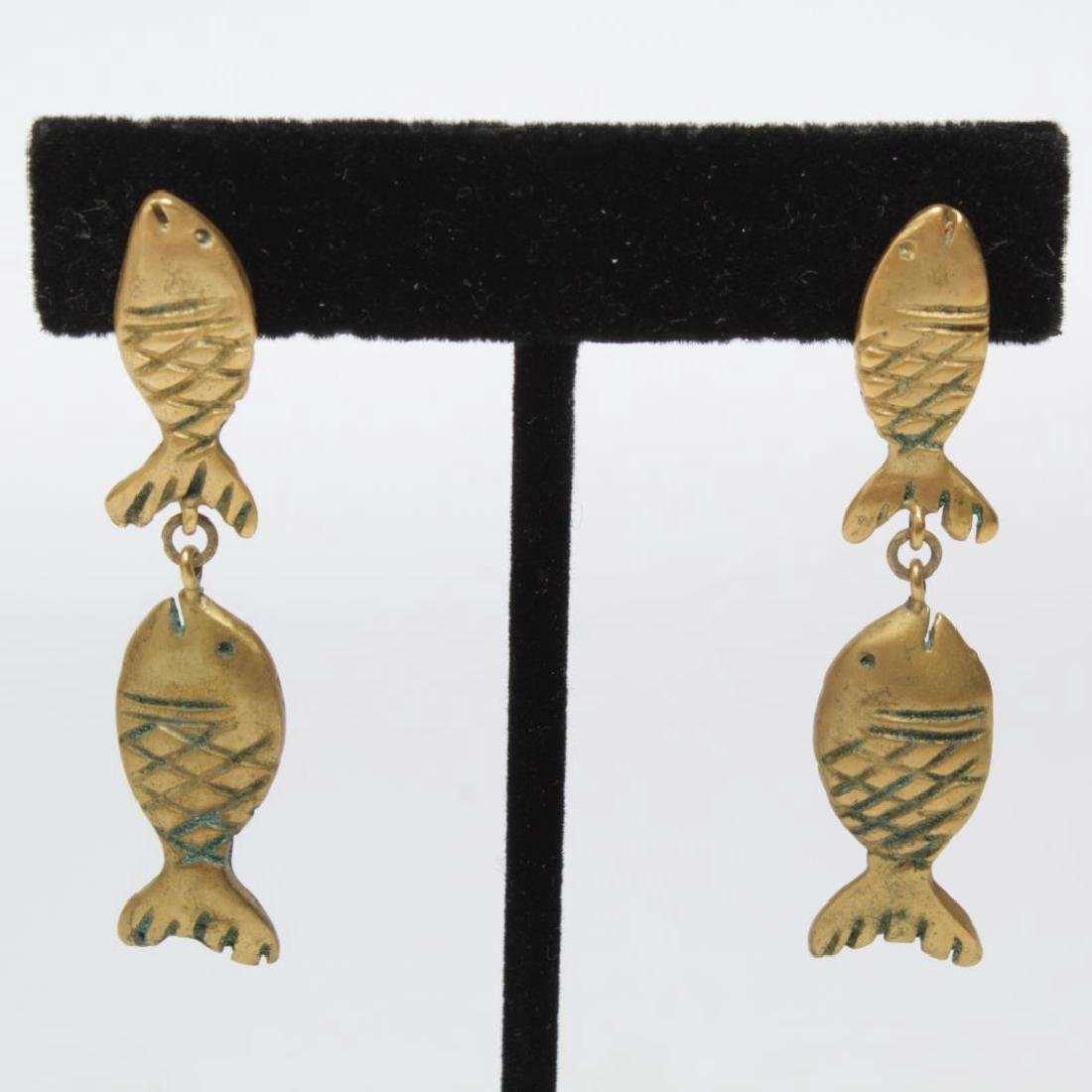Shell, Bead, Pearl & Metal Costume Jewelry, 11 Pcs - 6