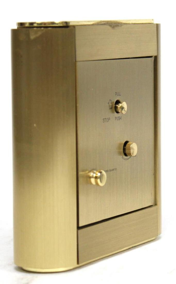 Vintage Tiffany Brass Desk Clock - 3