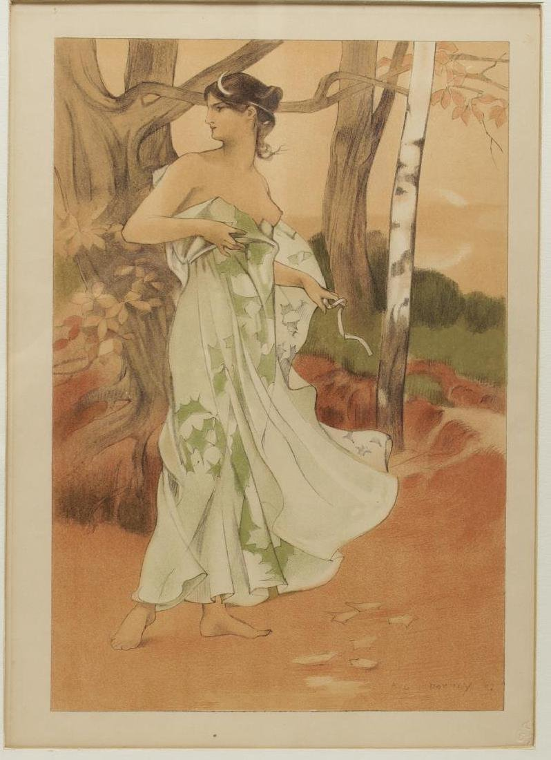 Auguste Donnay (Belgian, 1862-1921)- Lithograph