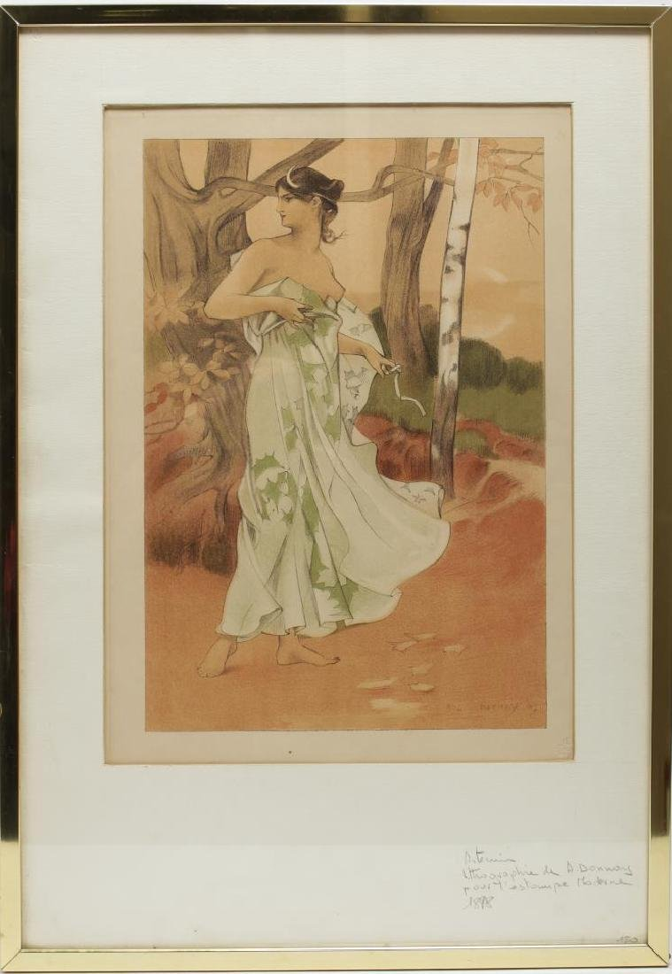 Auguste Donnay (Belgian, 1862-1921)- Lithograph - 2
