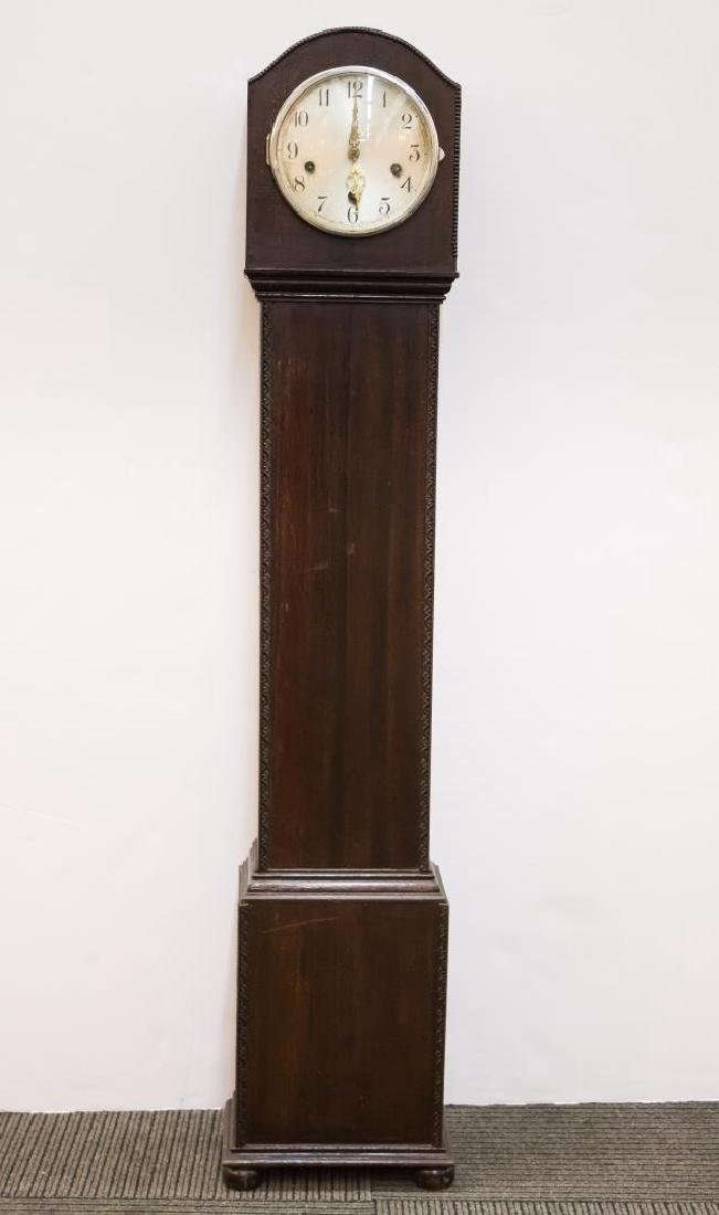 English Grandmother Clock, Antique 19th/20th C.