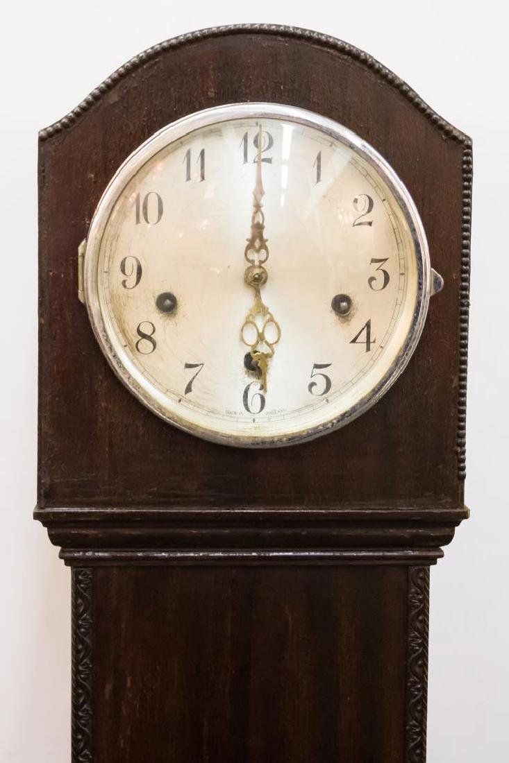 English Grandmother Clock, Antique 19th/20th C. - 2