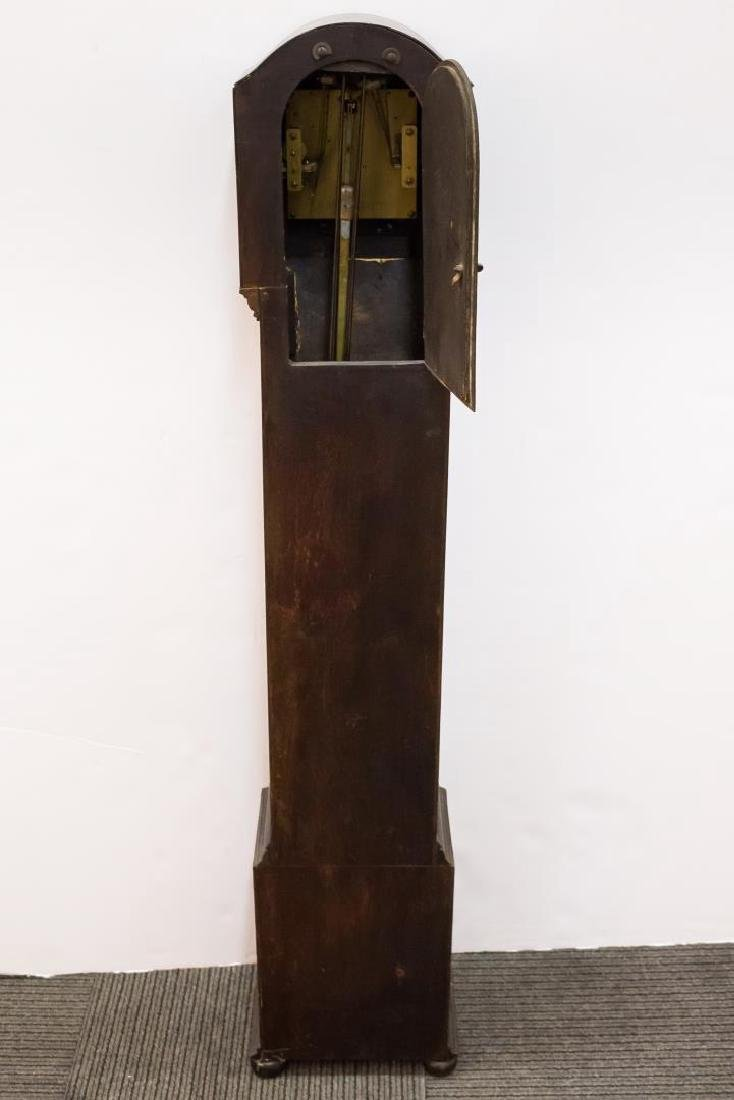 English Grandmother Clock, Antique 19th/20th C. - 7