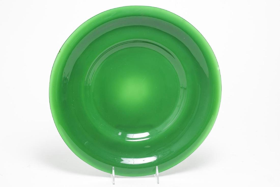 Chinese Beijing Glass Charger Plate
