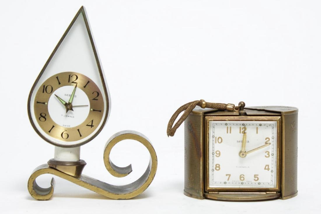 Semca Vintage German Alarm Clocks, incl. Modernist