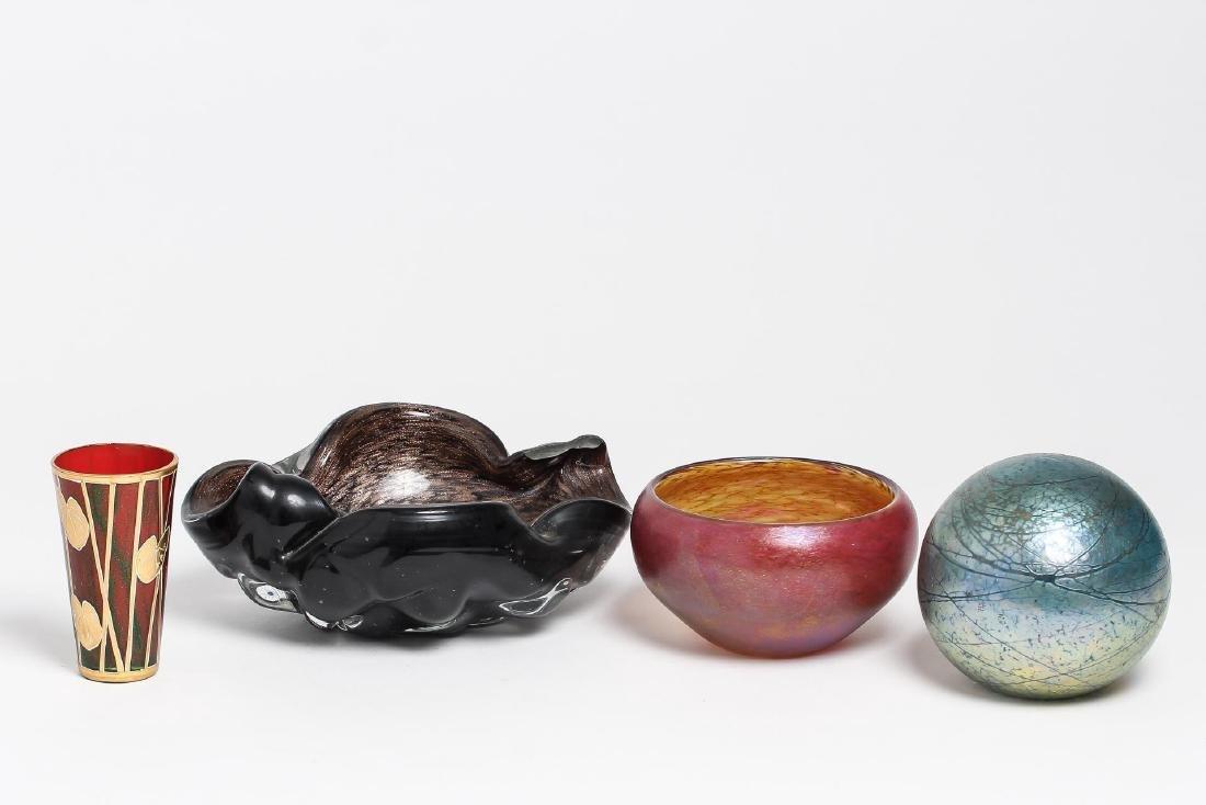 Iridescent Art Glass, incl. Murano & Maslach