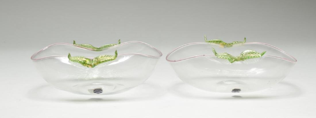 Cenedese Murano Glass Bowls, 2 - 2