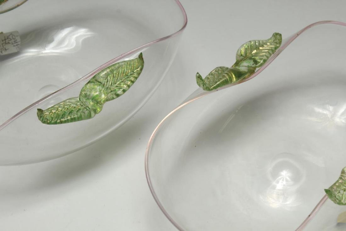 Cenedese Murano Glass Bowls, 2 - 6