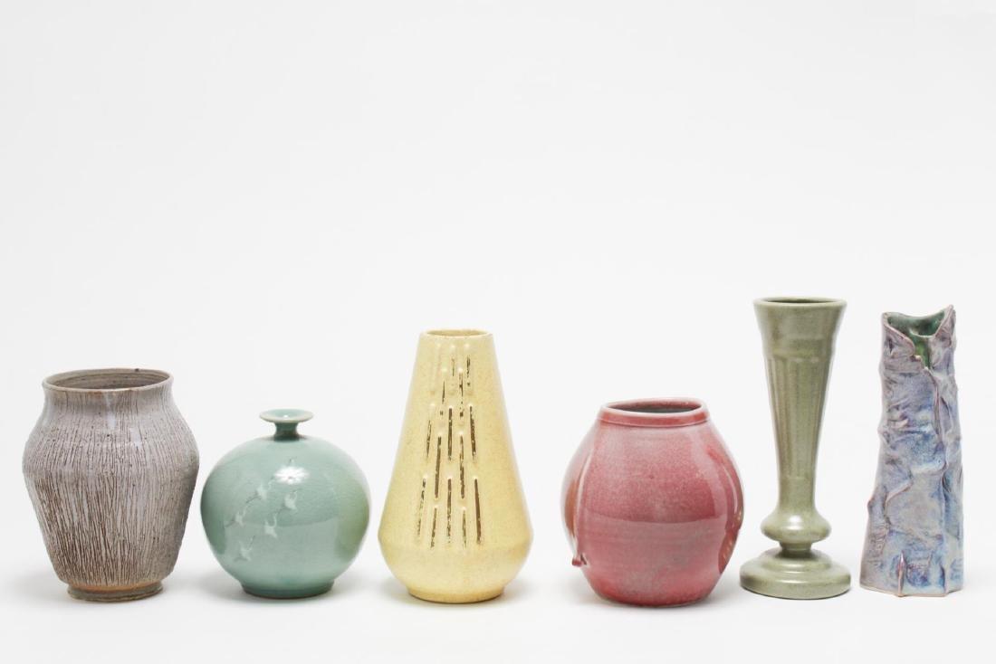 Mid-Century Modern & Studio Art Pottery Vases, 5