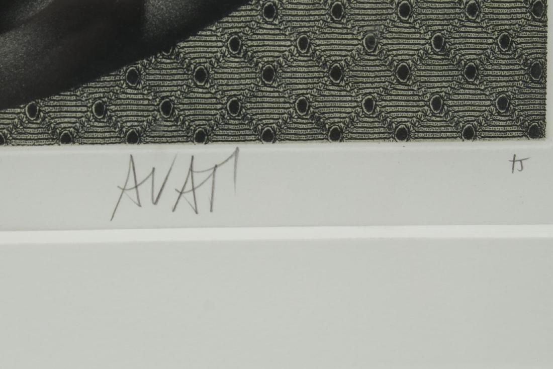 Mario Avati (French, 1921-2000)- Mezzotint - 4