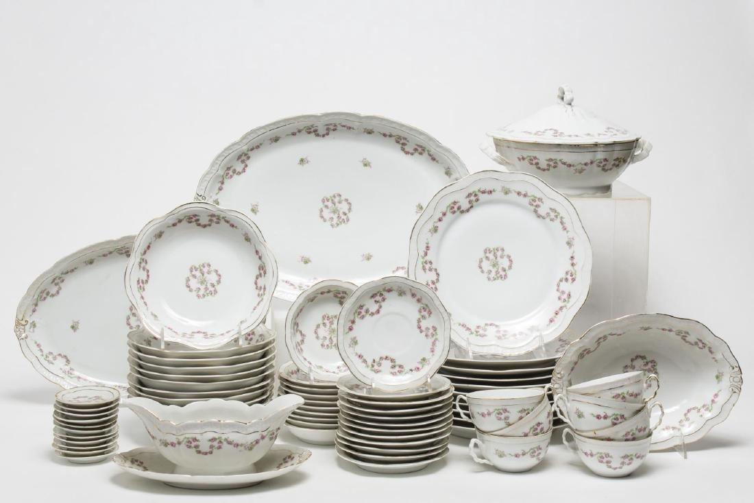 ZS & Co. Bavaria Orleans Porcelain Dessert Service