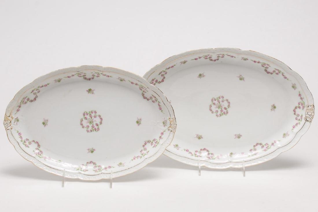 ZS & Co. Bavaria Orleans Porcelain Dessert Service - 6