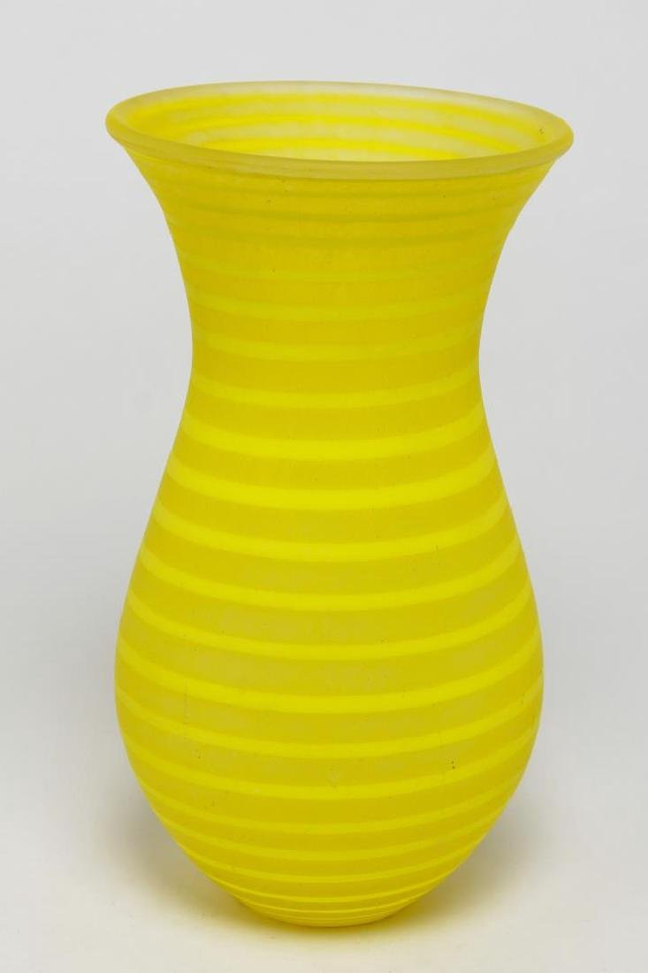 "Gunnel Sahlin Kosta Boda ""Striped Delight"" Vase"