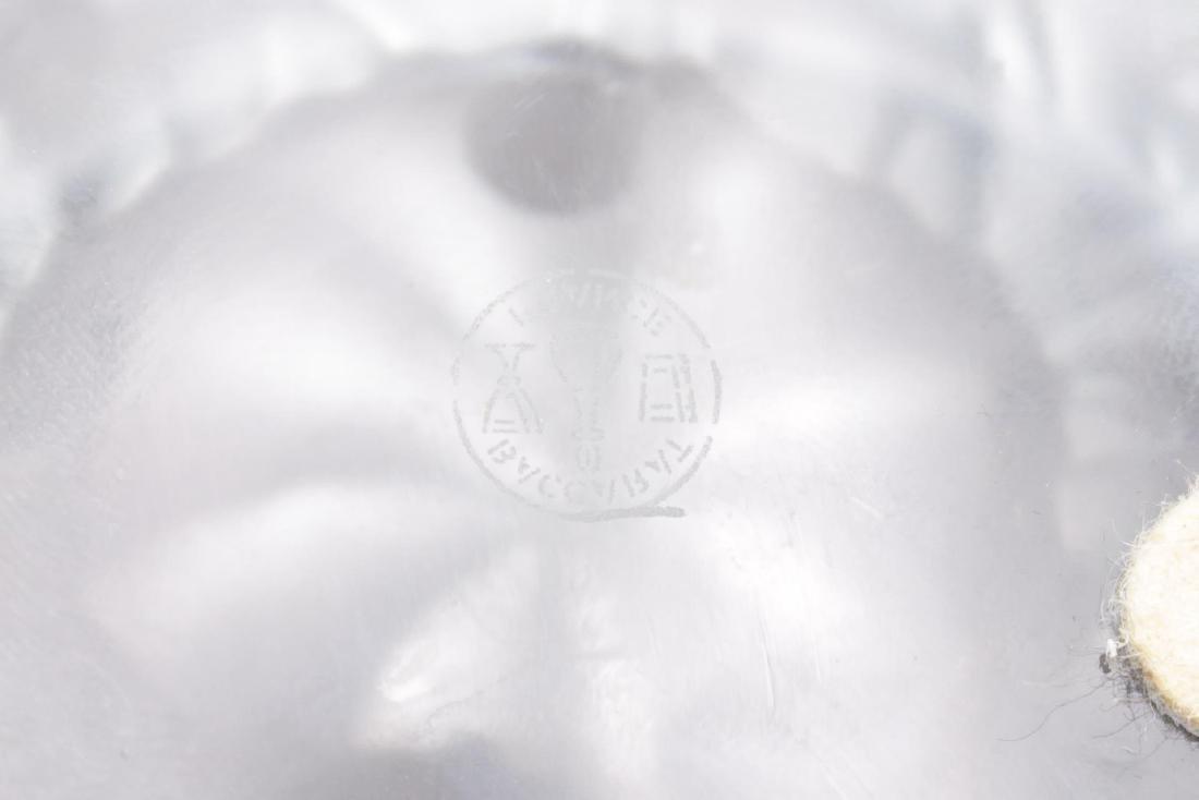 Baccarat Crystal Hexagonal Elephant-Motif Bowl - 3