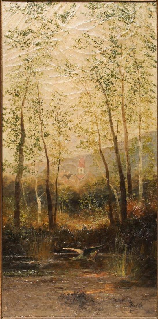 J.D. Bossi (Italian, 19th C.)- Oil on Canvas