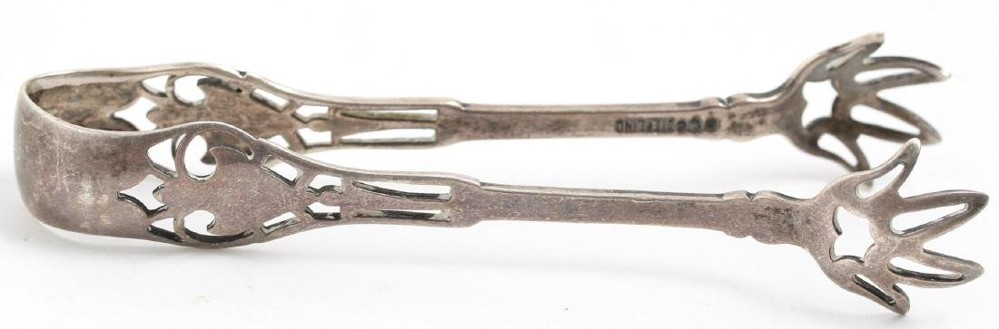 Silver Sugar Tongs, 7 Antique & Vintage - 6