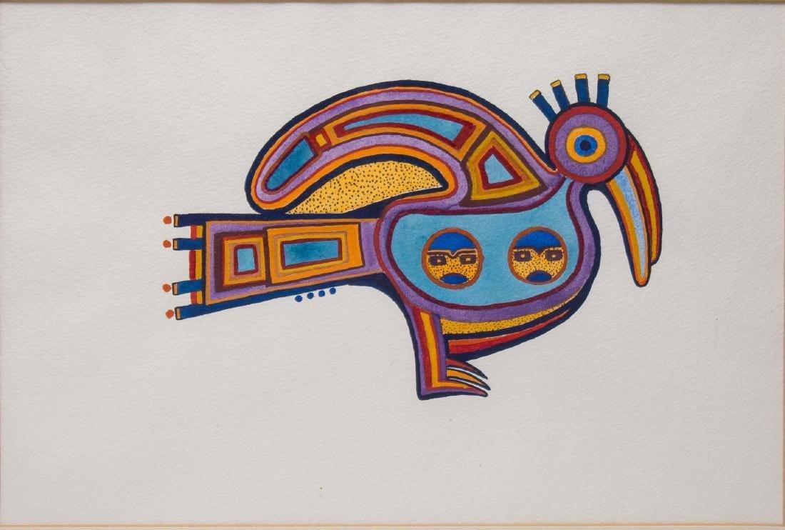 Native American Tribal Print, Bird